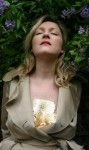 Amanda Coogan, Seven Steps photo of a woman with gold painted cleavage
