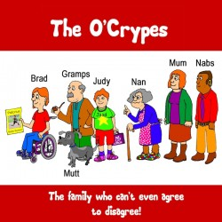 Crippen and John O'Donoghue present The O'Crypes