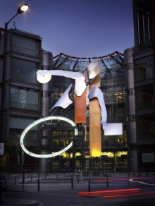News: Channel 4 unveils new 'Big 4' installation