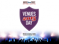 News: Attitude is Everything partner with Venues Day 2015